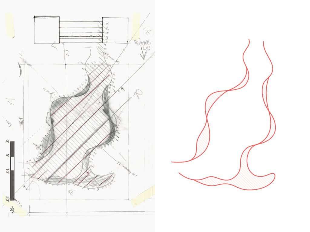 Convertir dibujo a mano a CAD 2D vectorizado