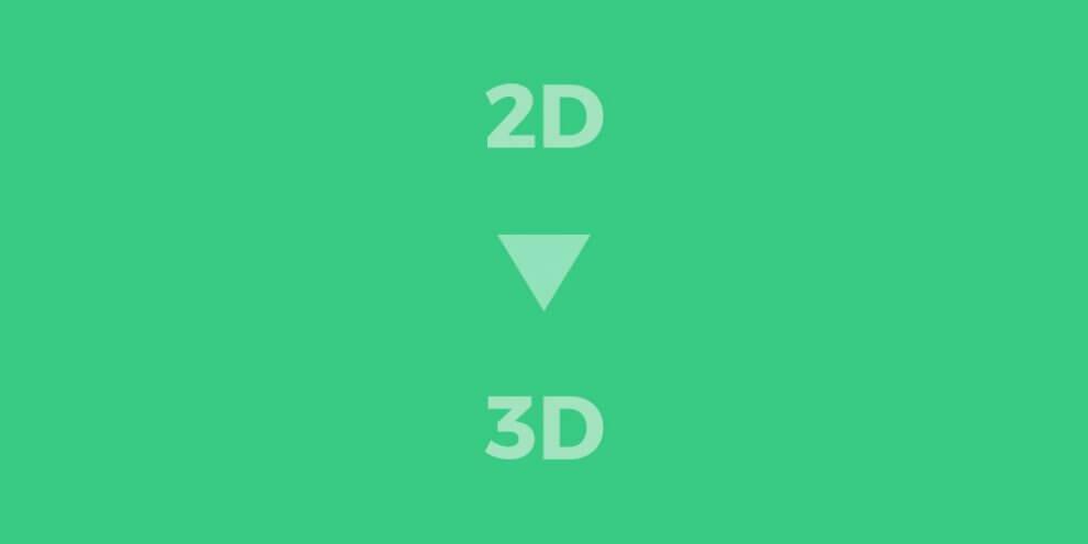 Cómo convertir un dibujo, esquema o imagen de 2D a 3D online