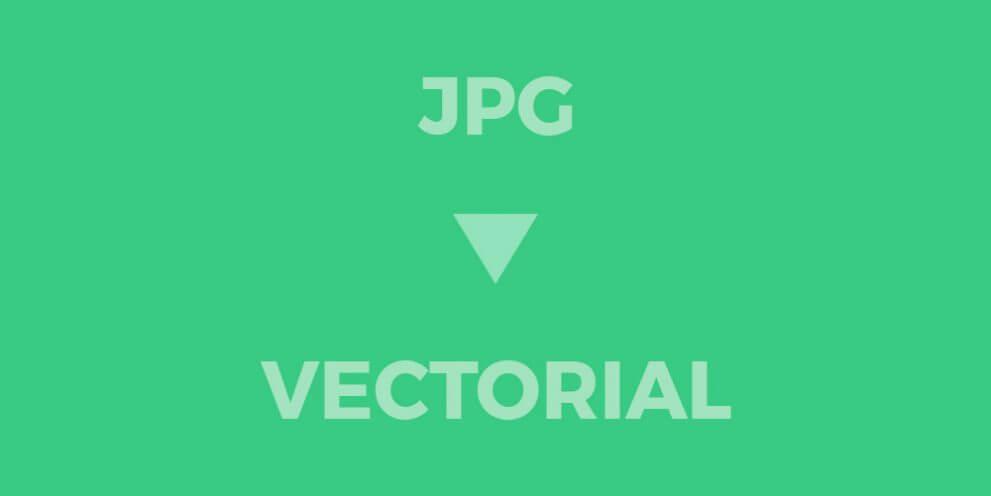 Como convertir de JPG a vectorial