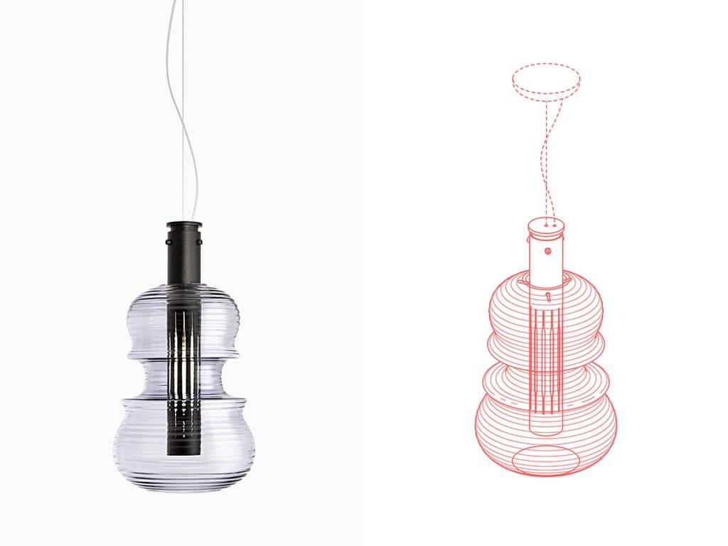 Ejemplo de trazado de producto a CAD 2D