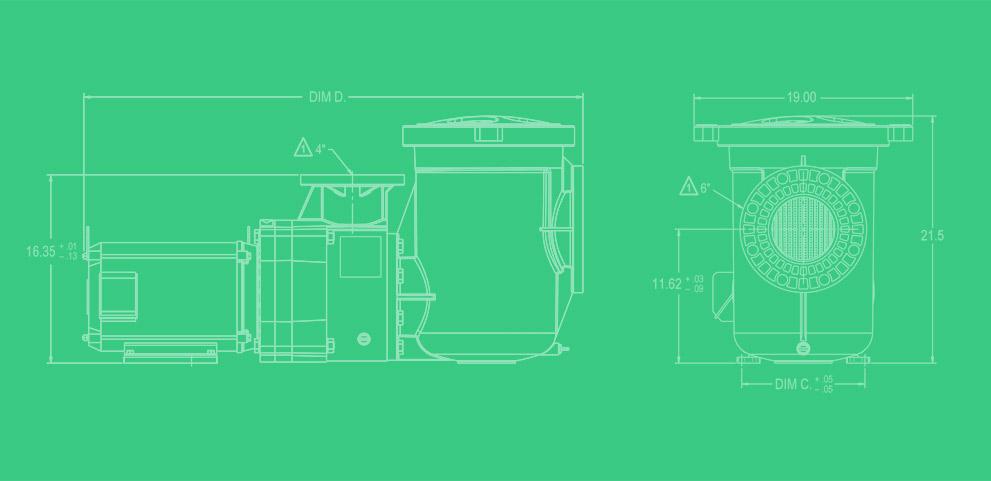 Servicio de diseño de carcasas de plástico con un ejemplo de motor eléctrico