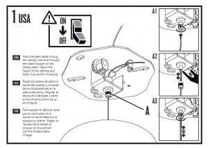 Ejemplo para empresa de diseño gráfico de ilustraciones para un manual de instrucciones