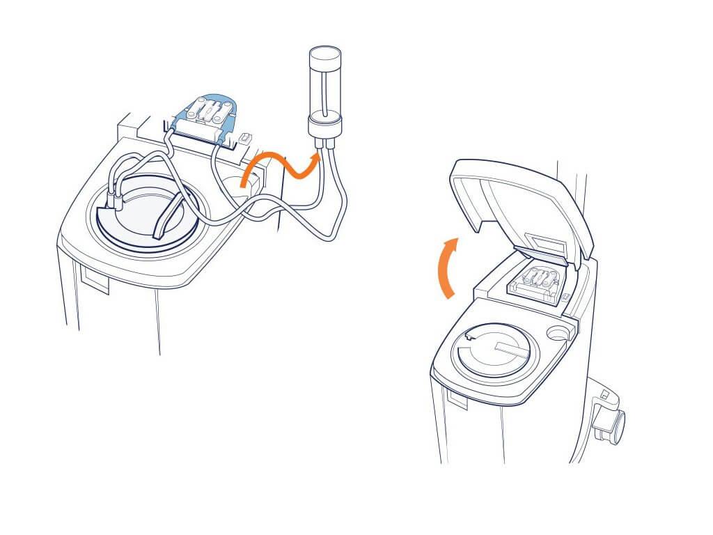 Ilustración técnica para manual técnico de instrucciones