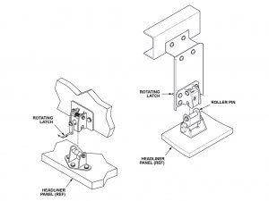 Ilustración de detalles para manual de uso de montaje