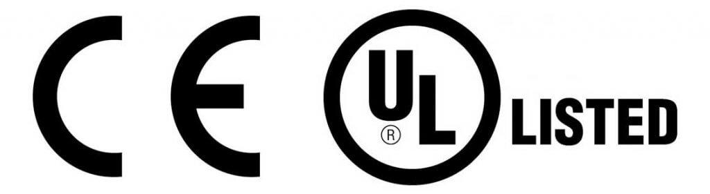 Manual de insutrucciones para marcado CE y marcado UL