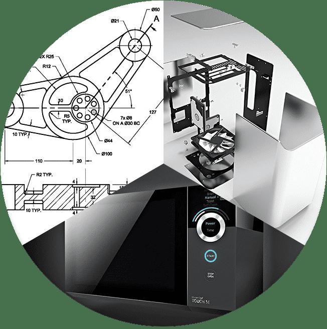 Estudio de diseño industrial y oficina técnica de delineación